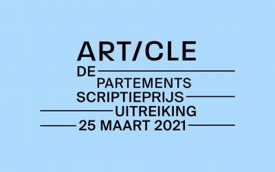 Article-Departementsscriptieprijs 2021